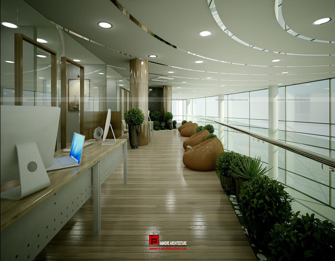 tiêu chuẩn thiết kế văn phòng m2/người