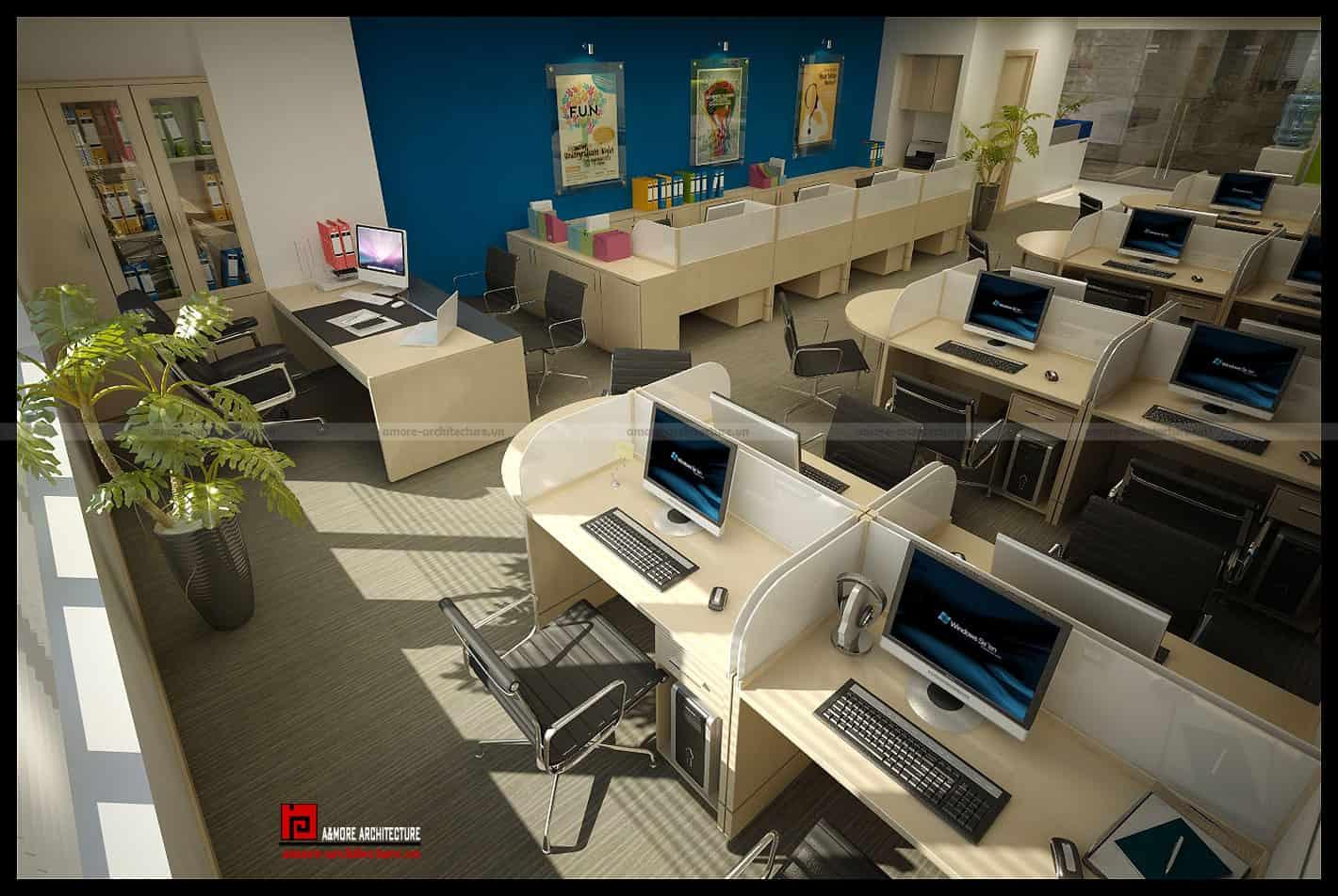 tiêu chuẩn thiết kế diện tích văn phòng