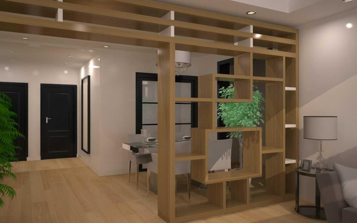 cách trang trí phòng khách với bàn ghế gỗ