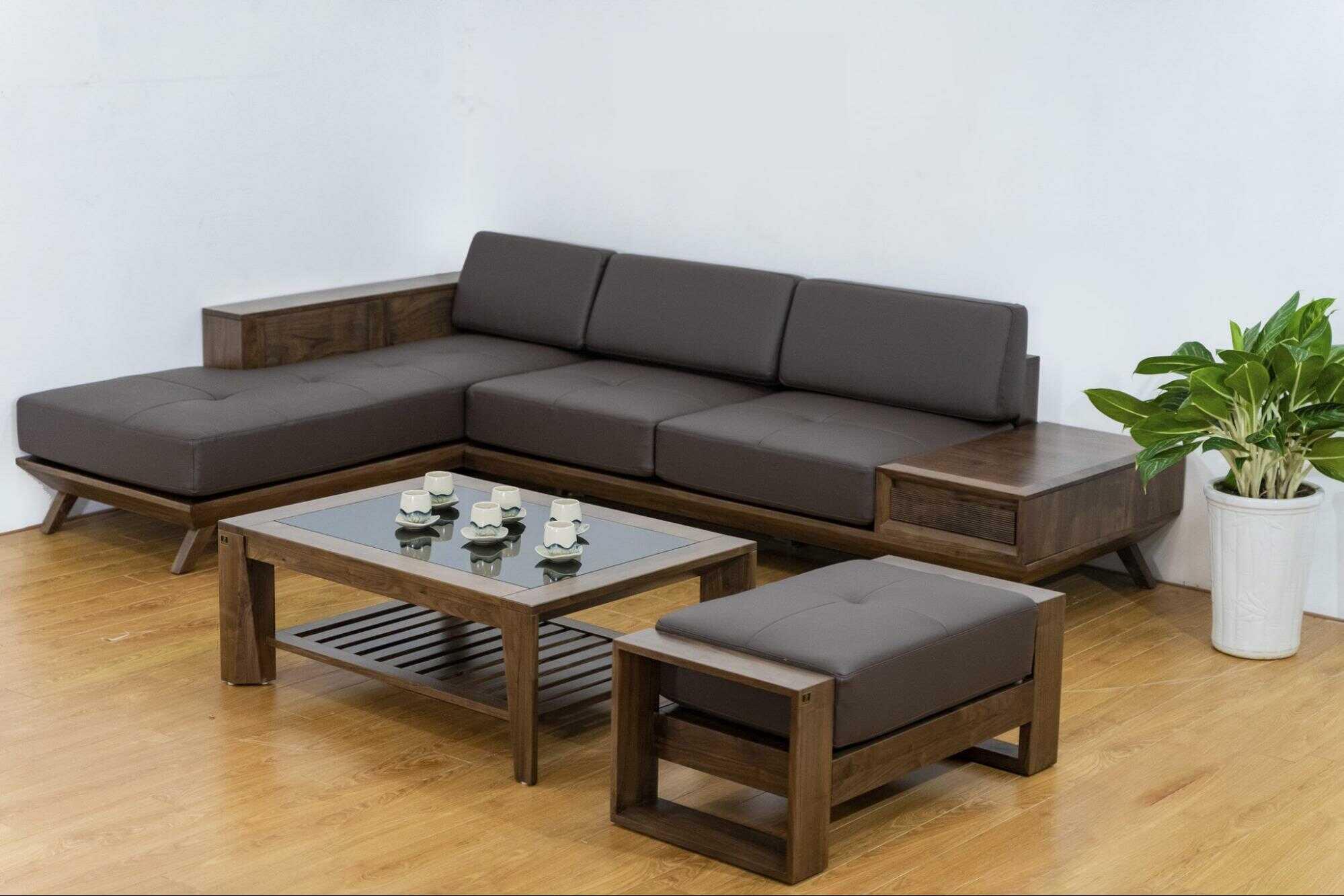 trang trí phòng khách bằng gỗ đẹp,