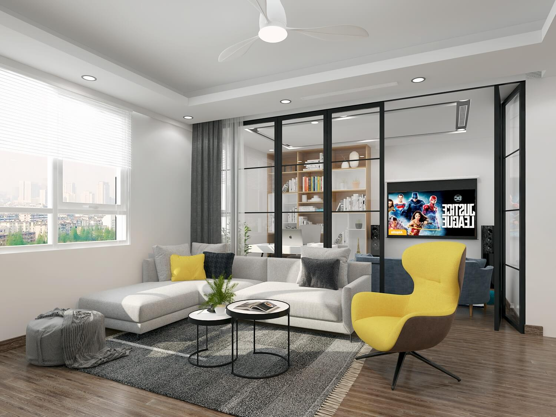 có nên thiết kế nội thất chung cư