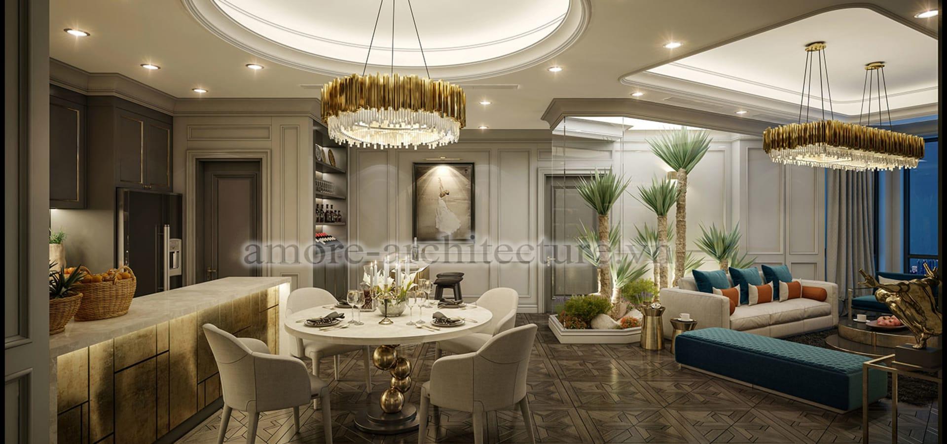 Thiết kế nhà chung cư 120m2