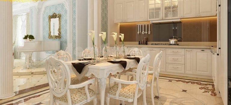 thiết kế nội thất chung cư 150m2 đẹp