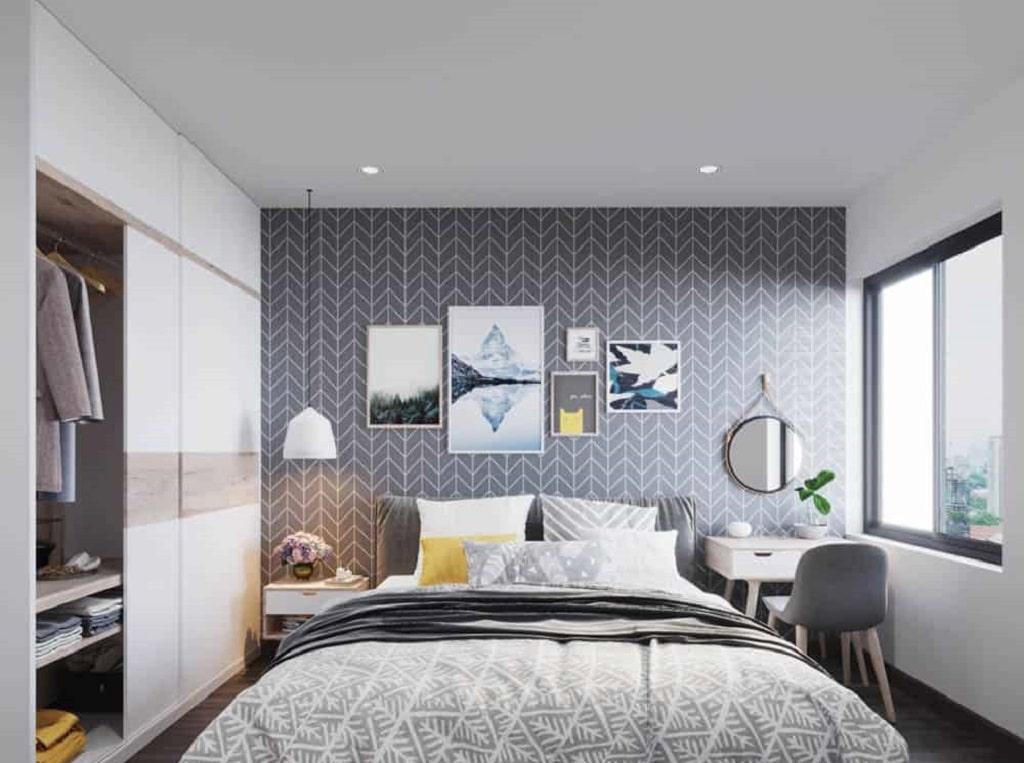 thiết kế nội thất chung cư 55m2 đẹp