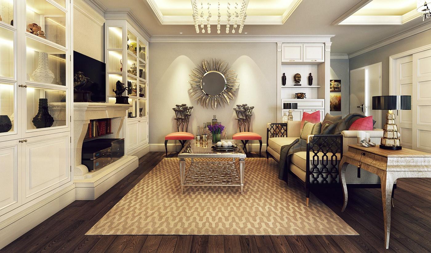 thiết kế nội thất chugn cư 60m2