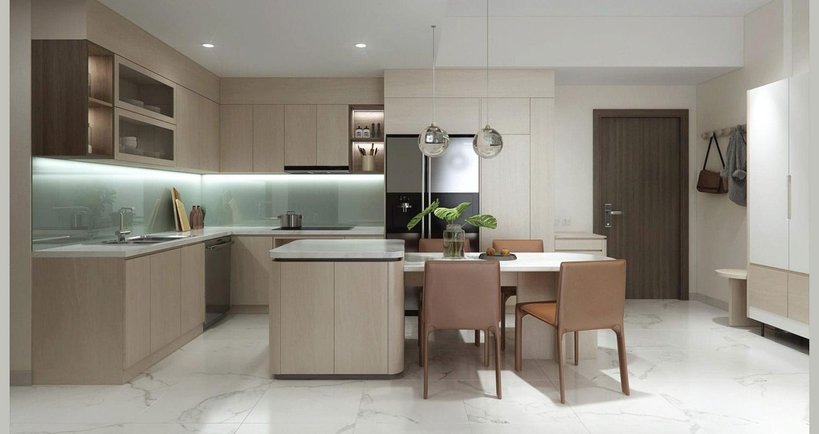 thiết kế nội thất chung cư 77m2
