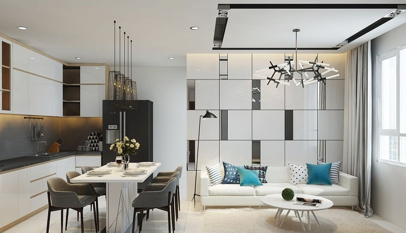 thiết kế nội thất chung cư 40m2
